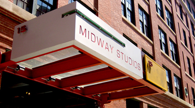 Midway Studios marquee